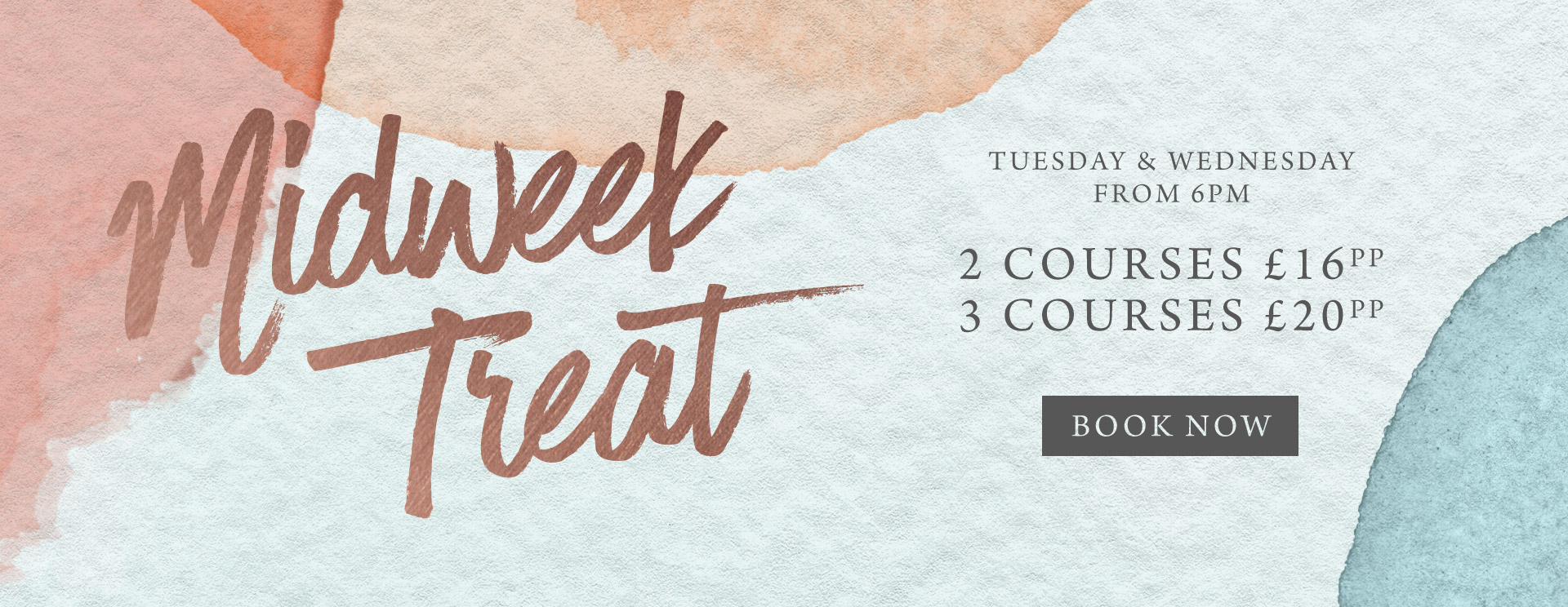 Midweek treat at The Warren - Book now