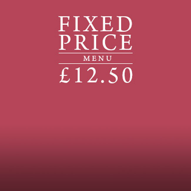 Fixed Price Menu at The Warren